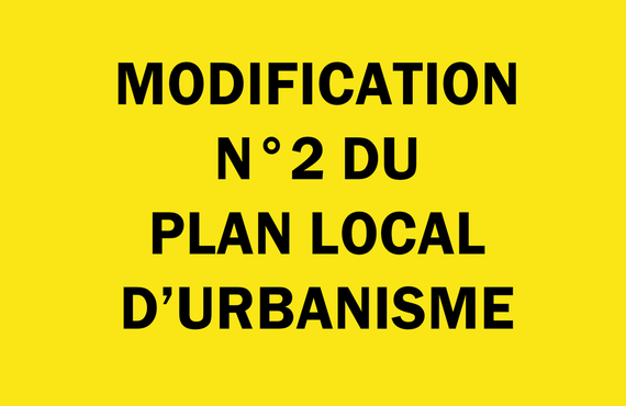 Modification n°2 du PLU
