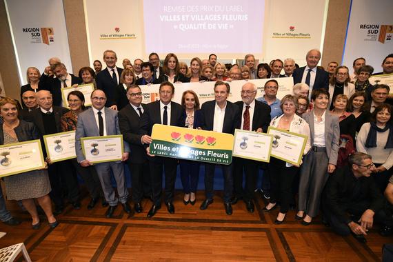 Palmarès 2018 du concours Villes et Villages Fleuris