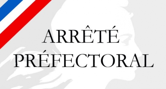 Arrêté préfectoral du 27 août 2019