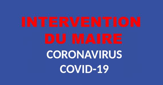 COVID-19 : INTERVENTION DU MAIRE DU BEAUSSET