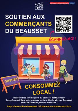 Soutien aux commerçants du Beausset
