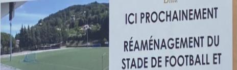 Travaux de rénovation du stade
